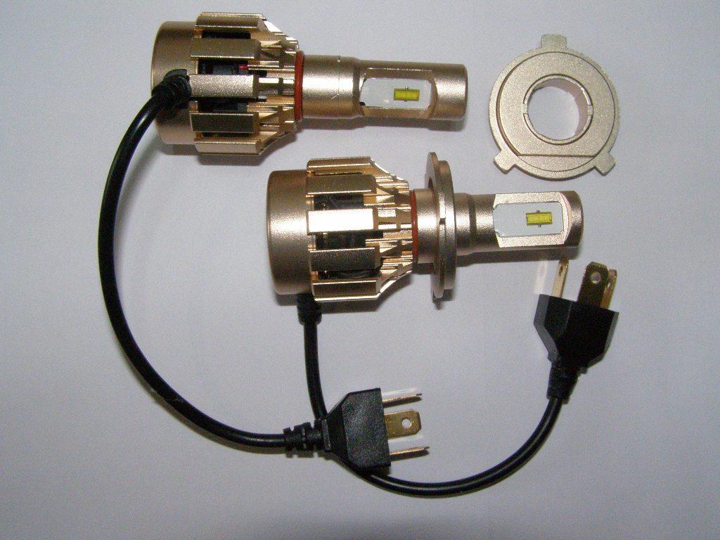 Лампа светодиодная h4 видео